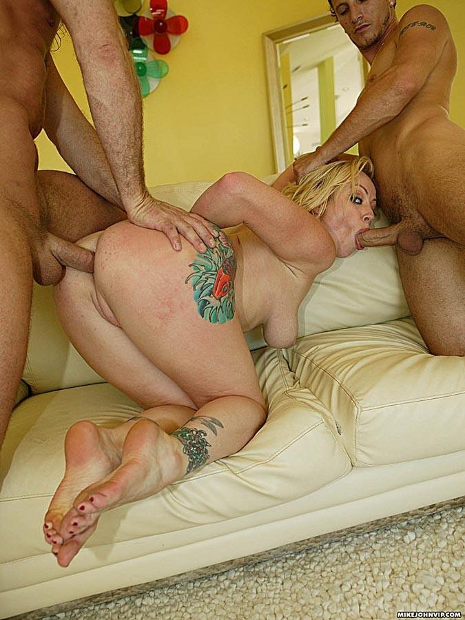 Amateur Anal Threesome Mmf
