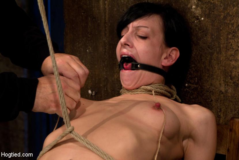 Very bondage slow strangle video hogtied words