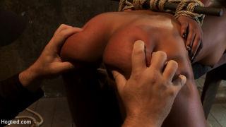 Brutal bondage, nipple torture, one of the most am