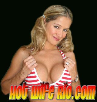 Gorgeous Busty Housewife in Bikini Showing Huge Ti