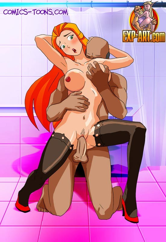 Have totally spies sex naked all