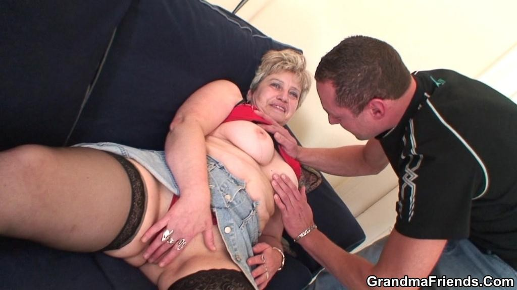 Big Tit Mature Blonde Milf