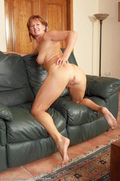 MILF flight attendant Liddy strips off her uniform