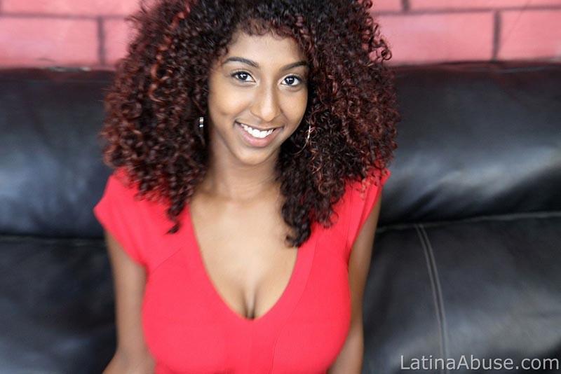 Ready help latina abuse cum face