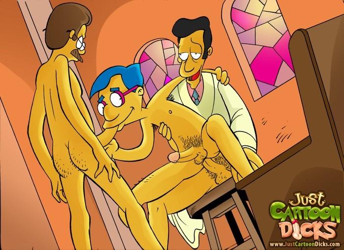 Порно Симпсоны Геи