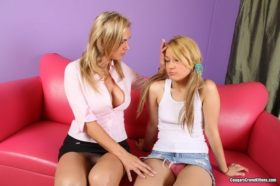 By Cougarscravekittens Com  C2 B7 Naked Tanya Tate Cougar Lesbian Seduction Lesbians