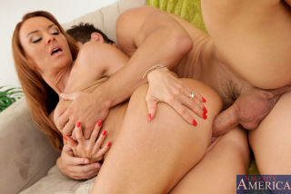 Janet Mason fucks her sons friend and takes his lo