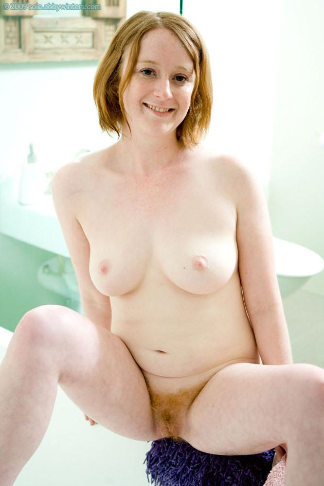 nude Abby winters redhead