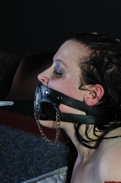 Emmas bizarre water bondage and extreme female hum