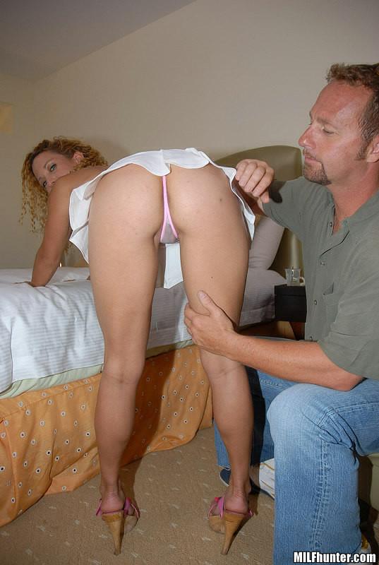 Amateur mature blonde