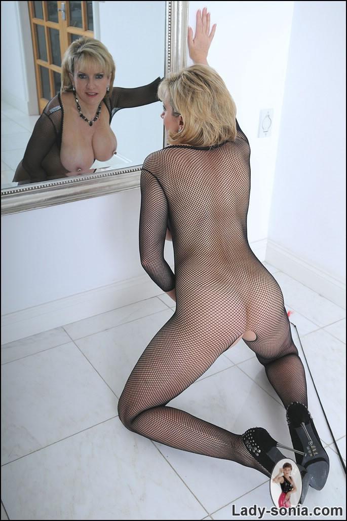 ... fishnet bodysuit hard mature nipples · nude Lady Sonia hard mature  nipples lady sonia tits ...