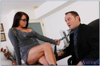 Brandy Talore naughty office babe gets banged