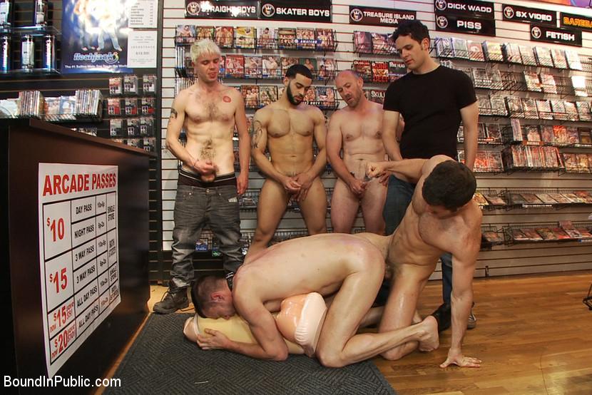 Gay porn shop