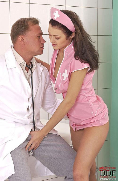 bigeyed naughty nurse priscillas blowjob