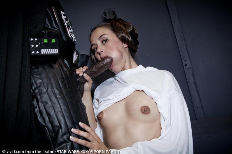 Porn leia Allie princess haze