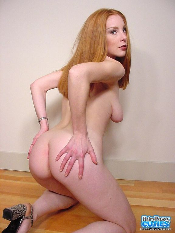 Redhead Teen with Nice Floppy Tits Masturbates and