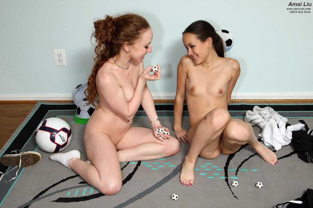 Soccer Game Turns Sexual with Amai Liu