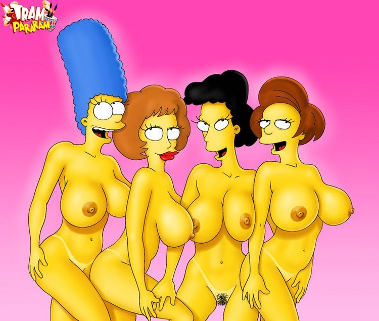 For the marge big boobs naked are