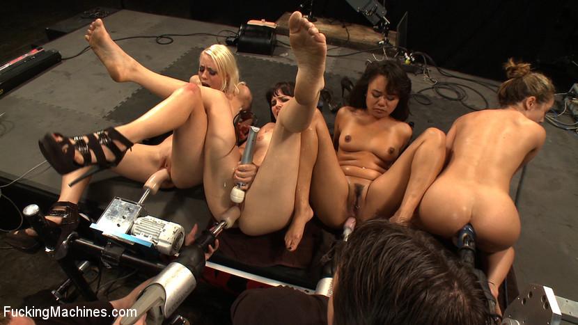 by fuckingmachines.com · naked anus extreme insertions ...