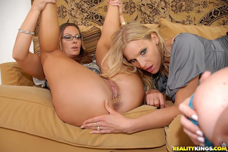 Busty Lesbian Milf Pornstar