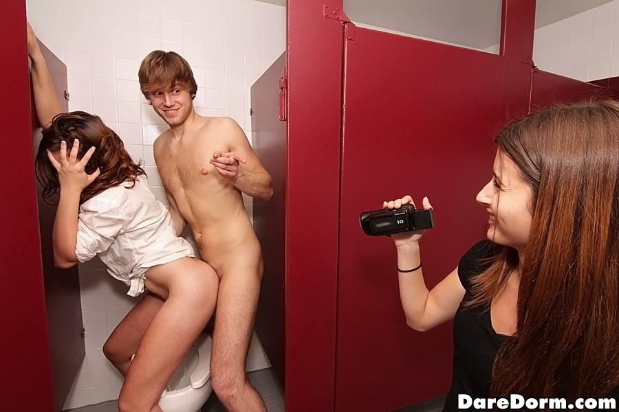 Teen Dp Threesome Gangbang