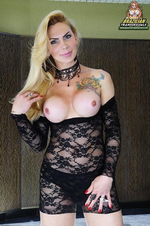 Best of Brazilian Blonde Tranny