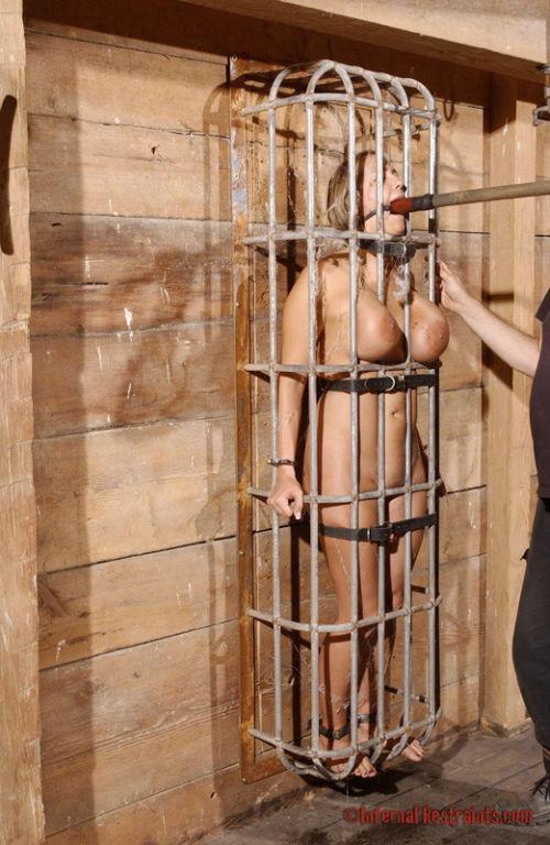 Trina Michaels makes a magnificent captive.