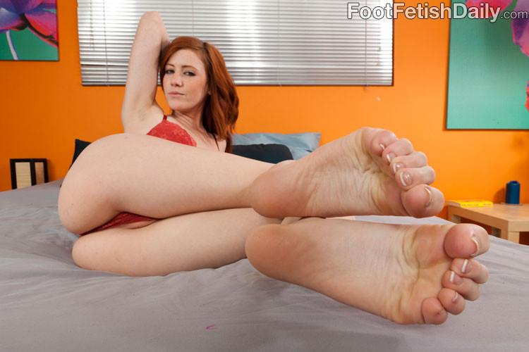 Latina Teen Foot Fetish