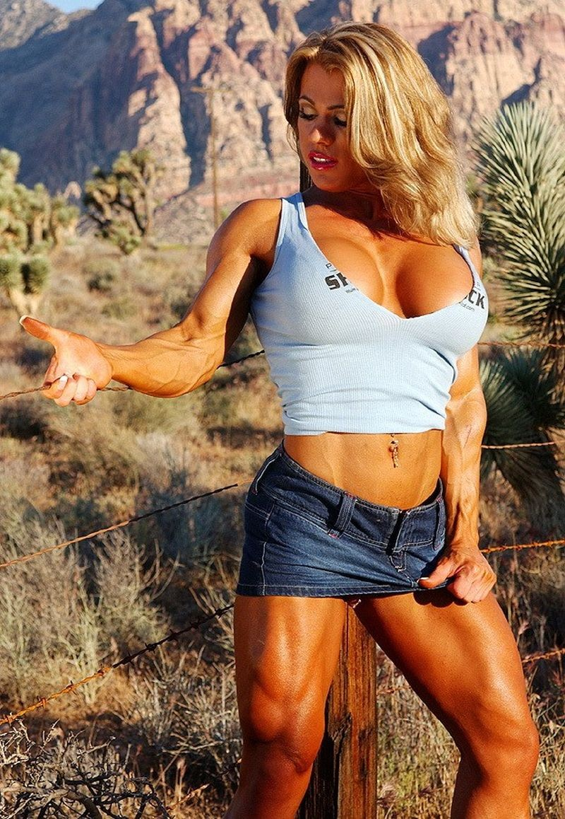 Denise Masino Trash Talking Female Bodybuilder