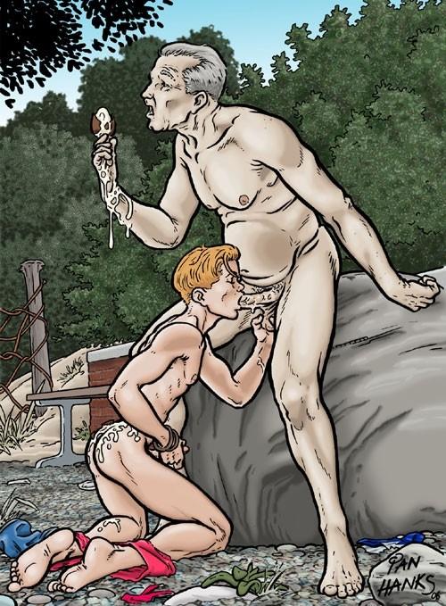 cartoon porn older gay