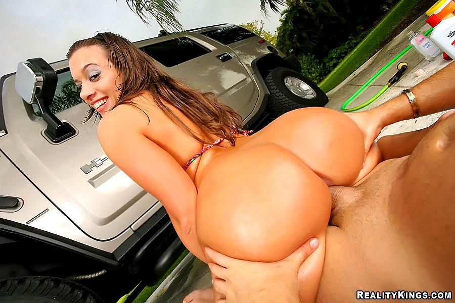 большая задница машине порно страстных белокурых лесбиянок