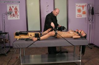 Busty Asian bondage slave