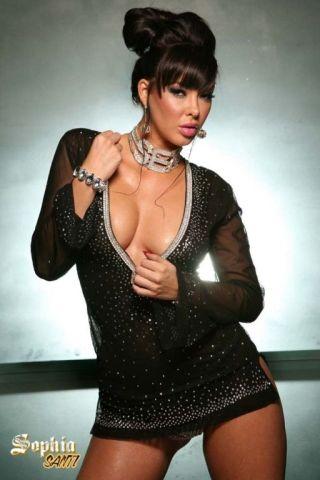 sexy brunette -sophia santi xxx
