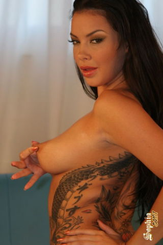 nude -sophia santi xxx brunettes