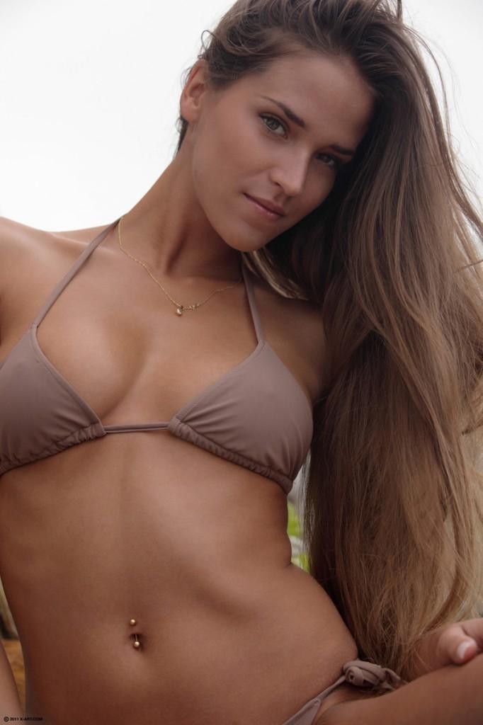 Amusing opinion brunette bikini model fucked solved