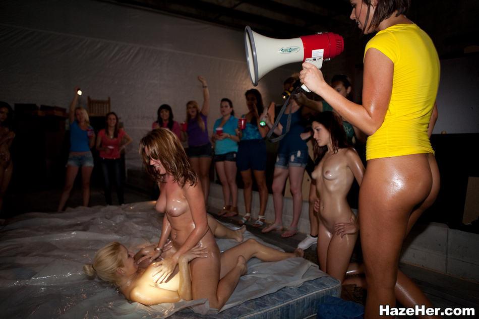 Naked lesbian oil wrestling congratulate