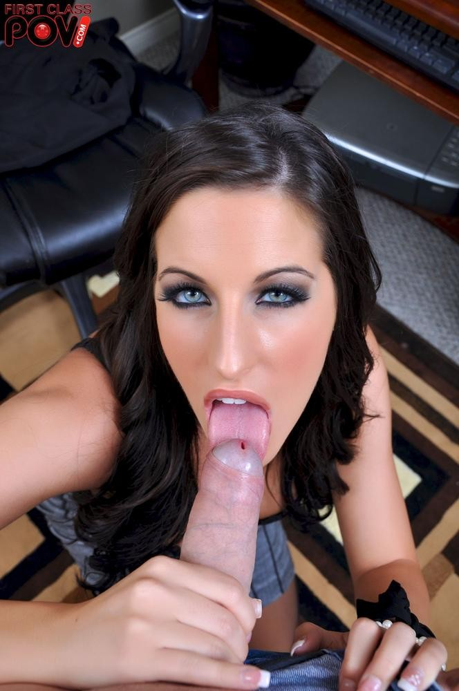 Luxurious Secretary Kortney Kane Facialized After Giving Boos Nice Blowjob 21Naturals 1