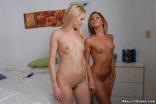 naked Samantha lesbo lesbian videos