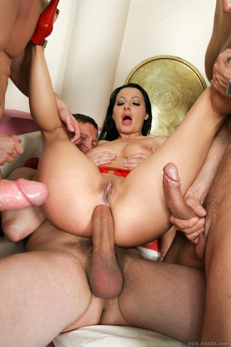 Big Cock Rough Gangbang