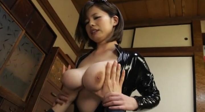 Busty Asian Latex