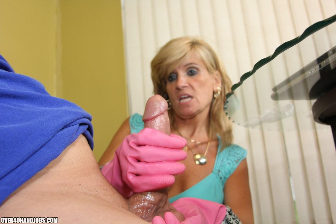 Mature Mom Big Tits Son