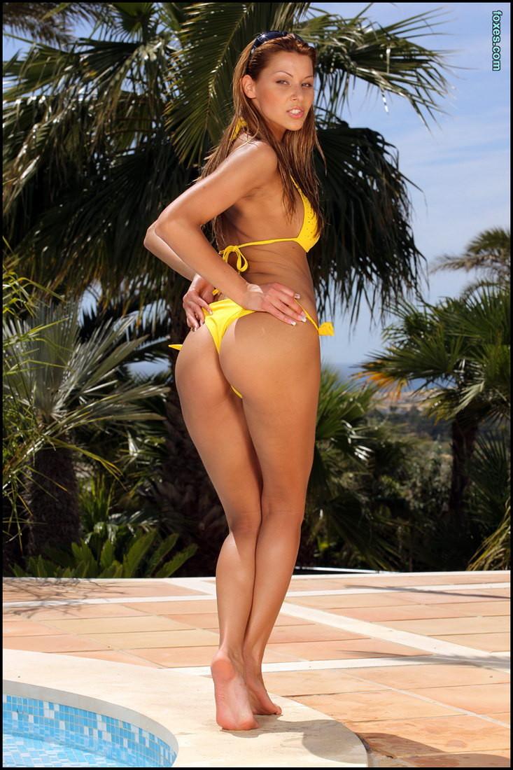Have won yellow bikini girl really. happens. can