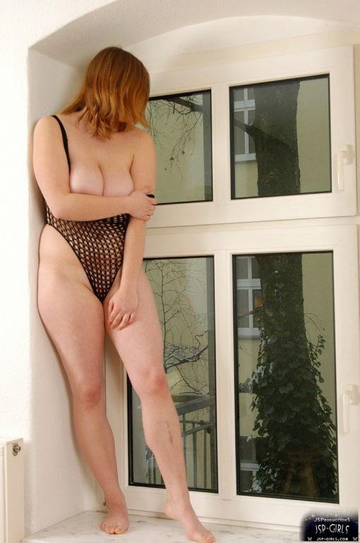 Melli in fetish nylon