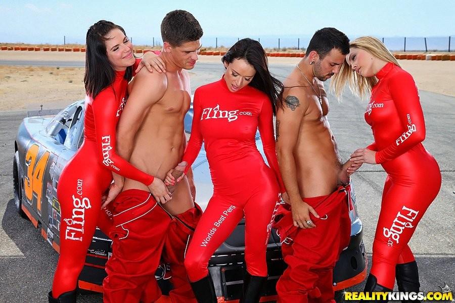 Race track fuck nude