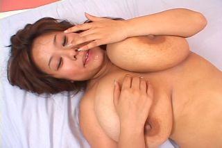 Japanese av idol with huge big tits in hardcore ac