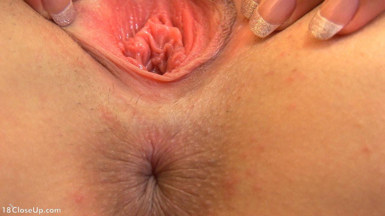 Cunnilingus Orgasm Close Up