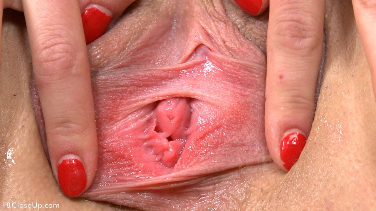 Young Asian Teen Pussy Closeup