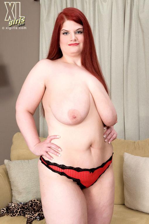 Sonja Haze redhead with huge floppy tits