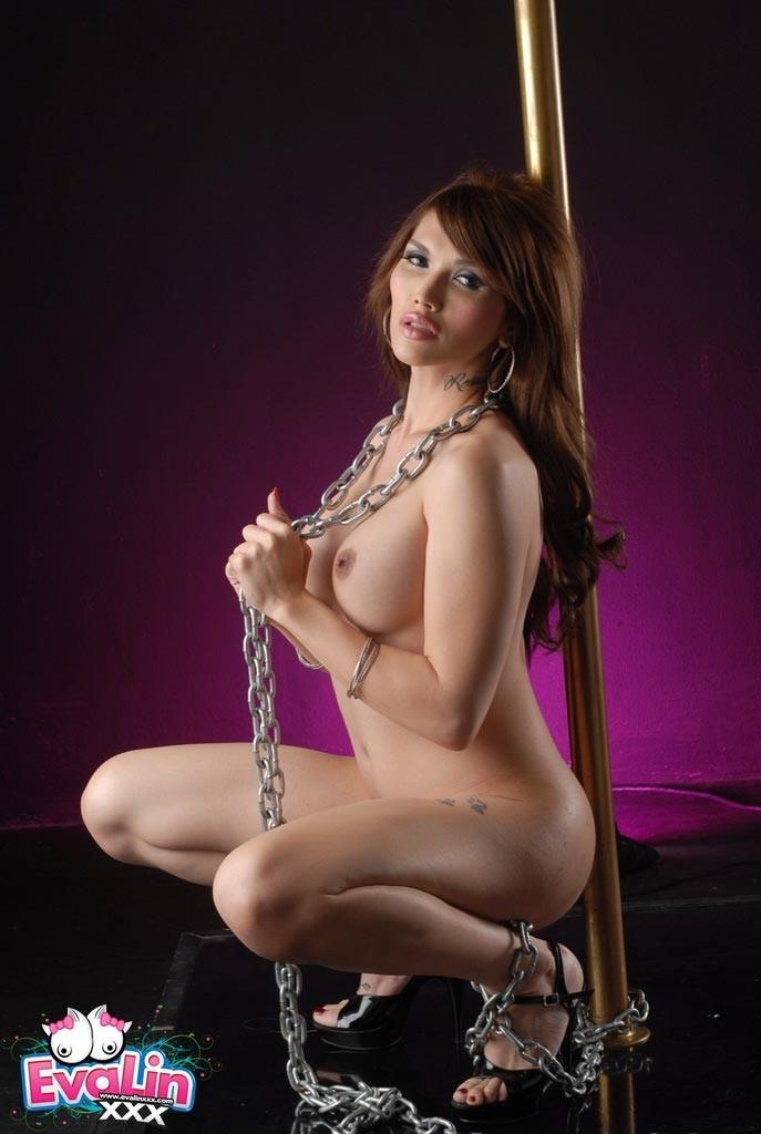 Realbooru Black Hair Breasts Eva Lin Large Long Pinkfineart 1