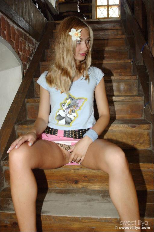 Russian girl next doorr Sweet Lilya